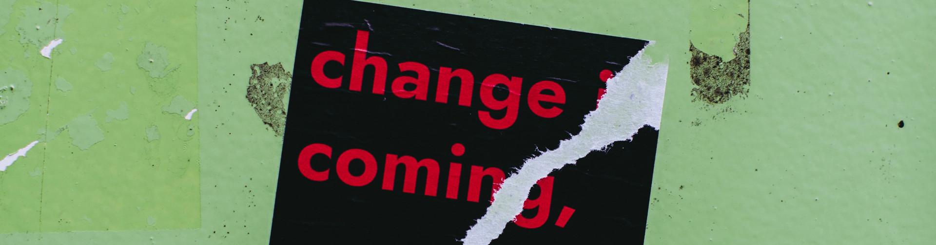 Veränderung gab es schon immer