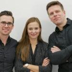 Dr. Gerrit Jochims, Laura Röseberg, Dennis Struck